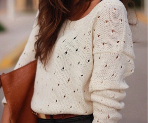 fashion, sweather, and girl image