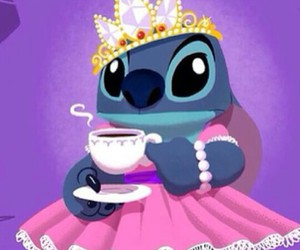 disney, stitch, and princess image
