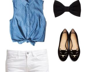 bow, bows, and fashion image