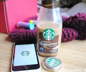 iphone, starbucks, and quality image