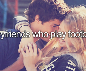 love, boyfriend, and football image