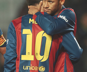 argentina, Barcelona, and soccer image