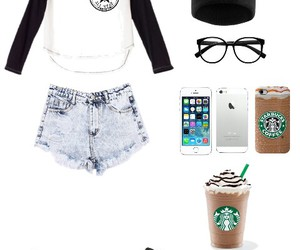 converse, hipster, and starbucks image