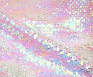 pastel, pink, and sequins image