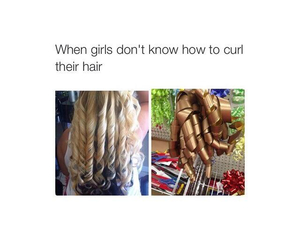 curl, curls, and fun image