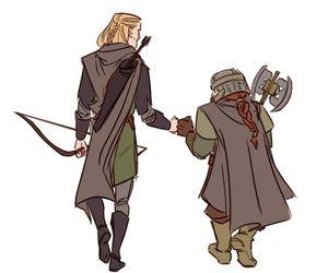 Legolas and gimli image