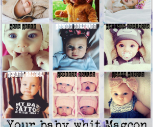baby, imagine, and hayes image