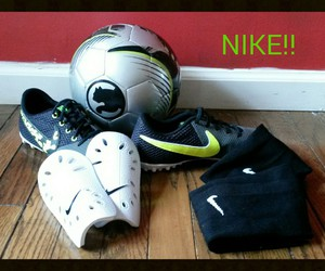 athletic, nike, and soccer image