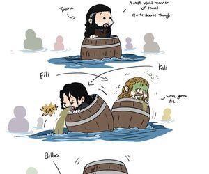 bilbo, dwarfs, and fili image