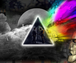 Pink Floyd and colors image
