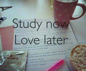study, love, and school image
