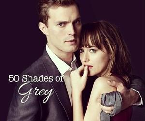 fifty shades of grey, Jamie Dornan, and dakota johnson image