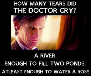 doctor who, sad, and matt smith image