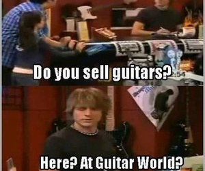 funny, lol, and guitar image