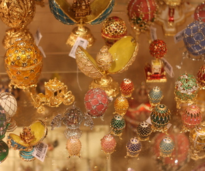 faberge egg, gum, and moscow image