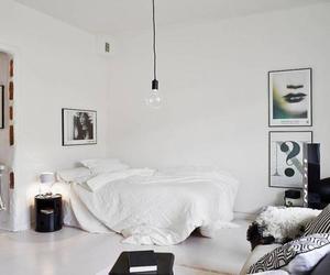 bedroom, oracle, and Scandinavian image
