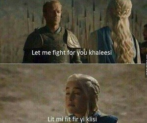 khaleesi, funny, and game of thrones image