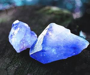 blue, crystal, and gems image