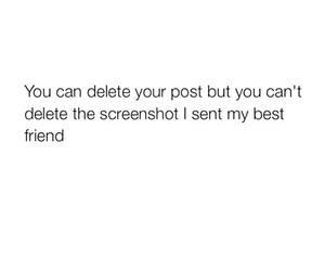 post, delete, and funny image