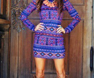 aztec, dress, and clothes image
