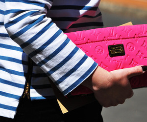 pink, fashion, and Louis Vuitton image