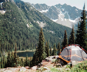 nature, mountains, and camping image