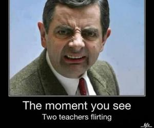 funny, teacher, and mr bean image