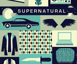 supernatural, dean, and Sam image