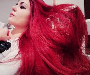 dye, dyed, and dyed hair image