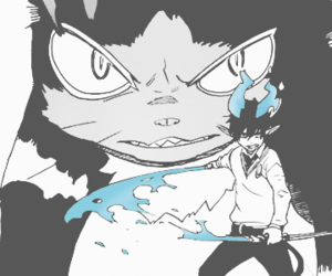 anime, manga, and blue exorcist image