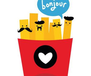 hello, french, and fries image