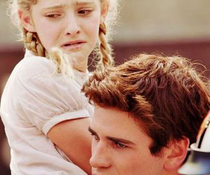 hunger games, prim, and gale image