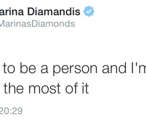 marina and the diamonds, tweet, and marina diamandis image