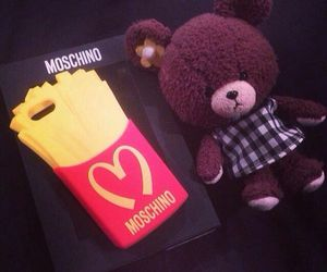 funny, Moschino, and phone case image
