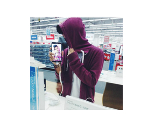 boy, hoodie, and icon image