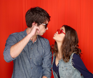 david lambert, maia mitchell, and the fosters image