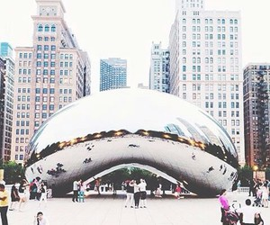 chicago, city, and travel image