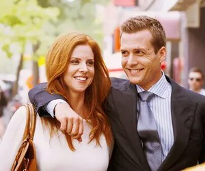 donna, suits, and harvey image