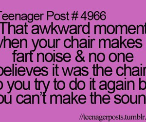 chair, funny, and teenager post image