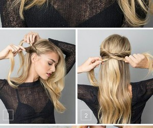 hair, hairstyle, and twist image