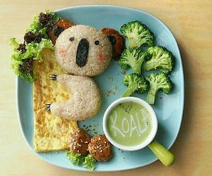 food, Koala, and cute image