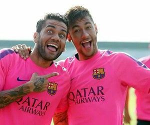 football, neymar, and Barca image