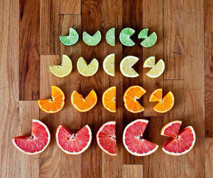 juicy, it says juicy, and spelling with fruit image