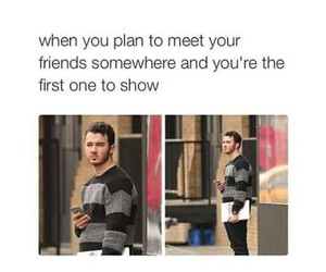 funny, friends, and kevin jonas image