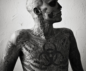 ink, zombie, and genest image