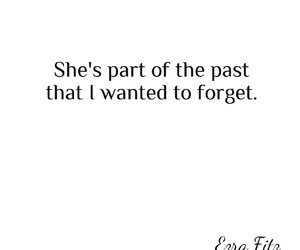 forget, girlfriend, and past image