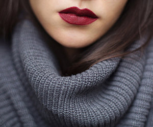 girl, lips, and beauty image