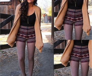 brown boots, comfy, and fall image