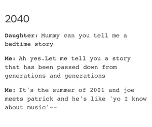 fall out boy, parenting, and patrick stump image