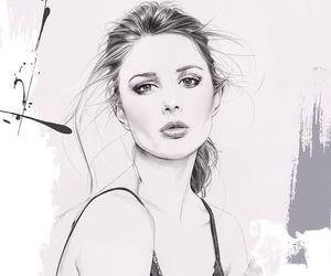 draw, art, and illustration image